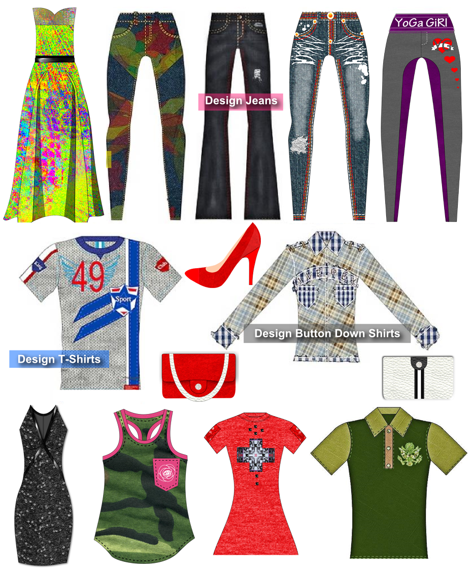 Fashion Design Software - Clothing Sketch Creator