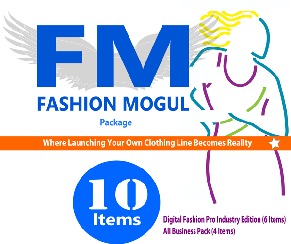 Fashion Mogul Clothing Line Start-Up Kit
