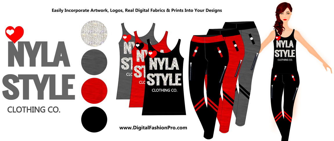 Design your own t shirts make your own t shirts for Clothing logo design software
