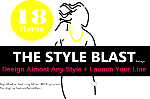 Style Blast Clothing Line Launch Kit