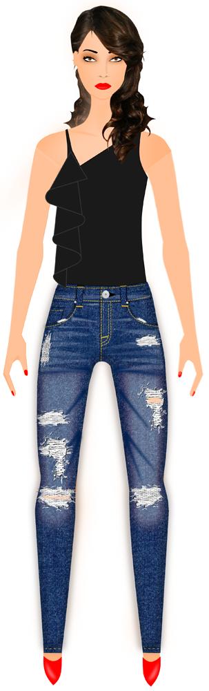 design your own denim jeans - jean design software - denim