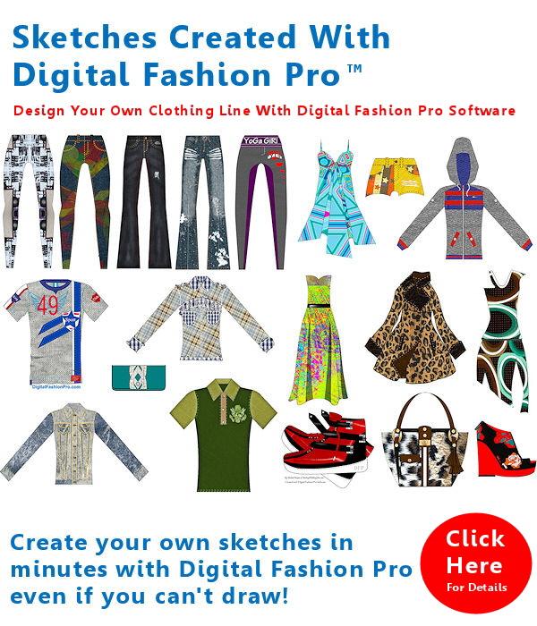 How To Put Designs On Shirts | Digital Fashion Pro Fashion Design Software Design Clothing